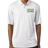 A-Best Vending and Coffee Apparel White Polo with left breast logo - Philadelphia Vending and Coffee Services