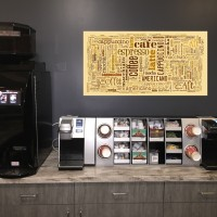 LevLane Coffee Set Up - Philadelphia Vending and Coffee Services